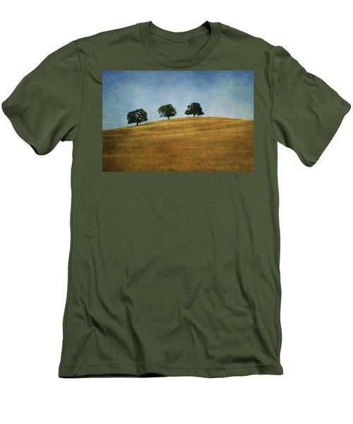 Three On A Hill Men's T-Shirt (Athletic Fit)