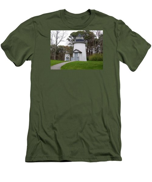 Three Sisters Light Men's T-Shirt (Slim Fit) by Catherine Gagne