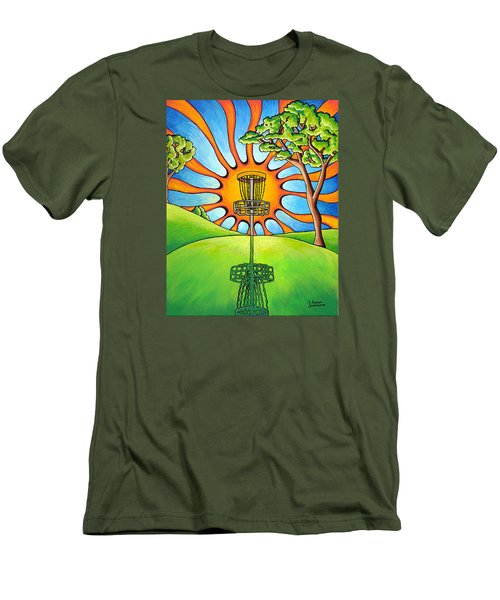 Throw Into The Light Men's T-Shirt (Athletic Fit)