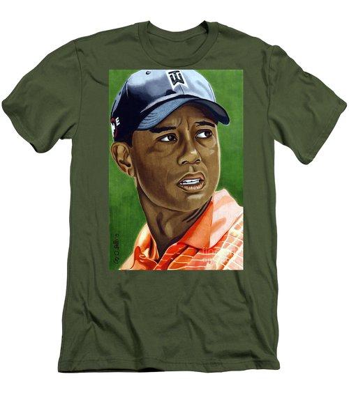 Tiger Men's T-Shirt (Athletic Fit)