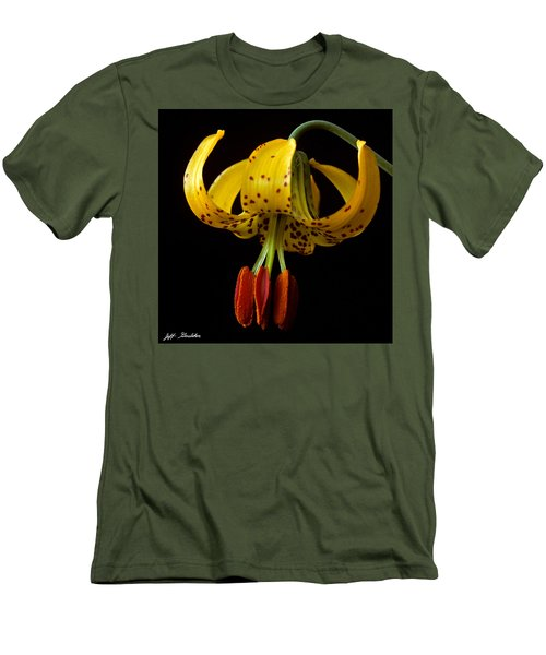 Tiger Lily Men's T-Shirt (Slim Fit) by Jeff Goulden