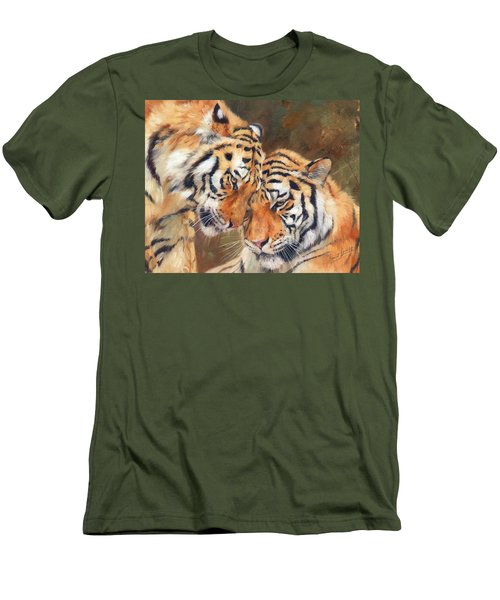Tiger Love Men's T-Shirt (Slim Fit)