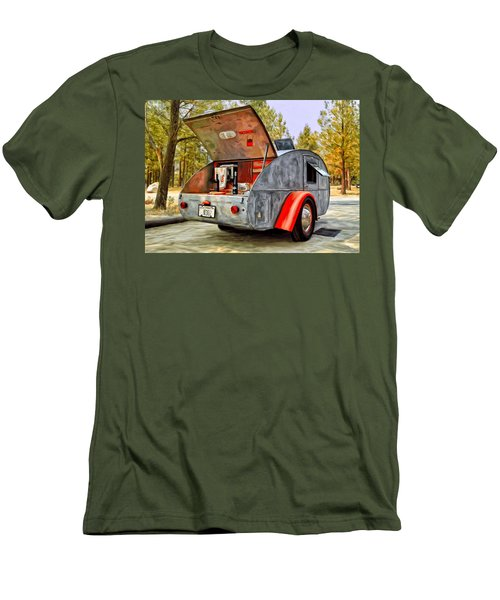 Time For Camping Men's T-Shirt (Athletic Fit)