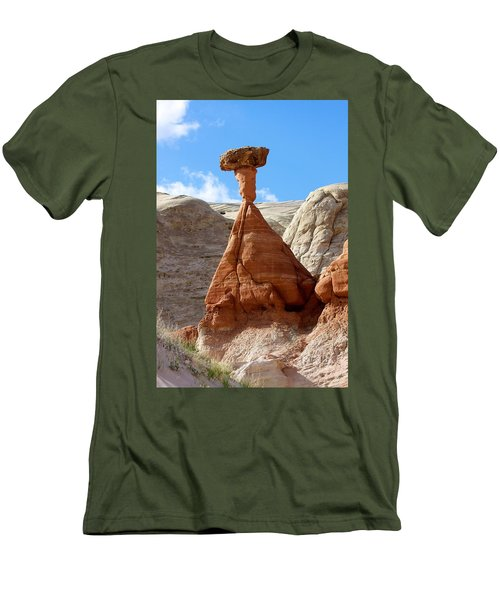 Toadstool Trail 1 Men's T-Shirt (Athletic Fit)