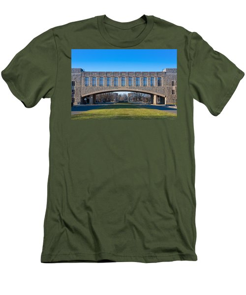 Torgersen Hall At Virginia Tech Men's T-Shirt (Athletic Fit)