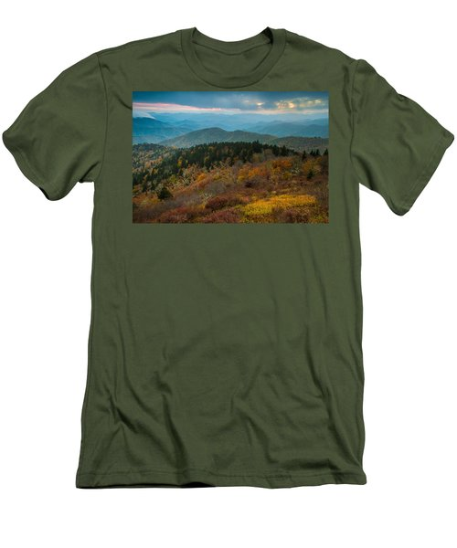 Men's T-Shirt (Athletic Fit) featuring the photograph Touch Of Yellow by Joye Ardyn Durham
