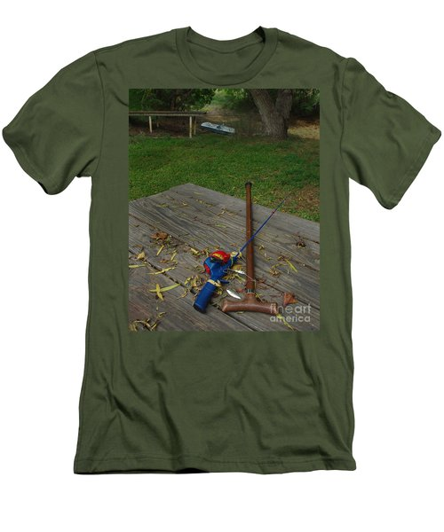 Men's T-Shirt (Slim Fit) featuring the photograph Traditions Of Yesterday by Peter Piatt