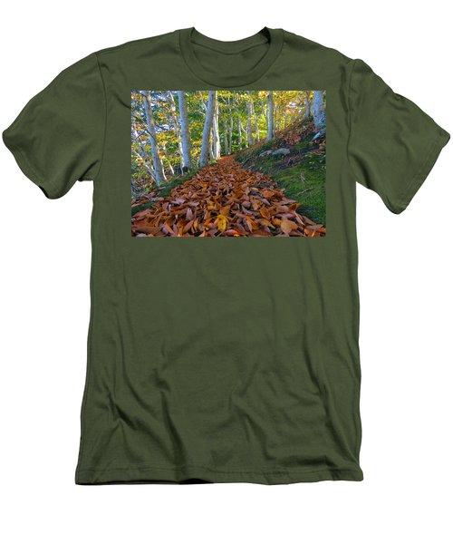 Men's T-Shirt (Slim Fit) featuring the photograph Trailblazing by Dianne Cowen