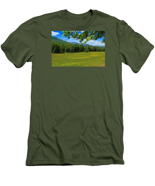 Men's T-Shirt (Slim Fit) featuring the photograph Tranquility by Geraldine DeBoer