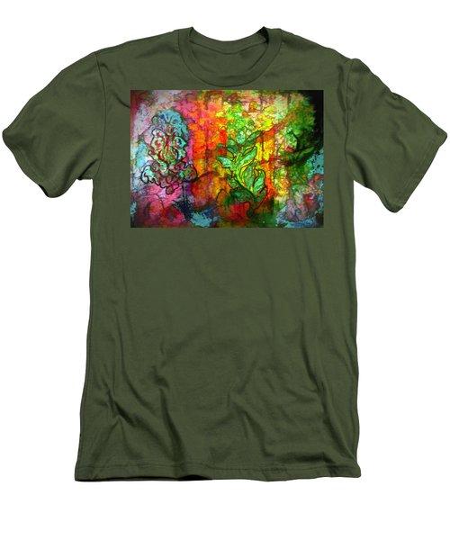 Transformation Men's T-Shirt (Slim Fit) by Bellesouth Studio