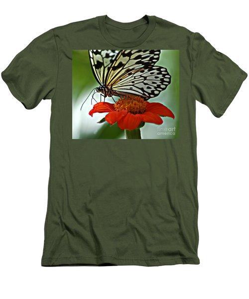 Tree Nymph Closeup Men's T-Shirt (Slim Fit) by Diane E Berry