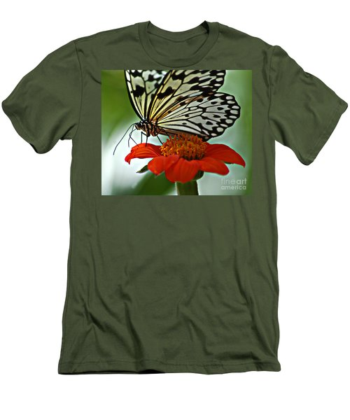 Tree Nymph Closeup Men's T-Shirt (Athletic Fit)