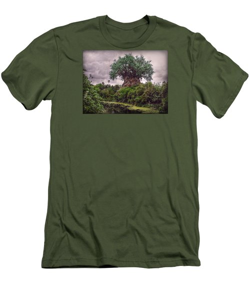 Tree Of Life Men's T-Shirt (Slim Fit) by Hanny Heim