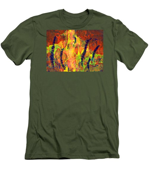 Tribal Essence Men's T-Shirt (Slim Fit) by Lynda Hoffman-Snodgrass