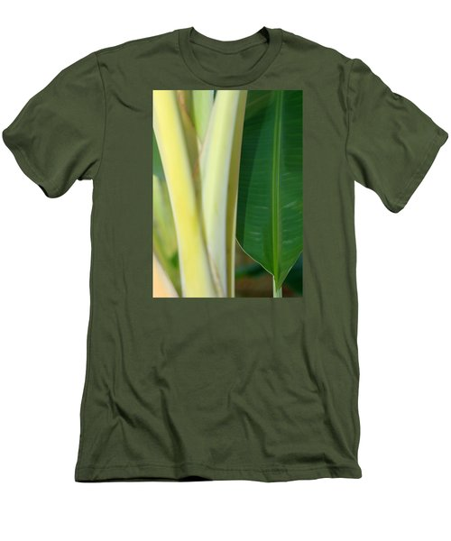 Tropical Banana Tree Men's T-Shirt (Athletic Fit)