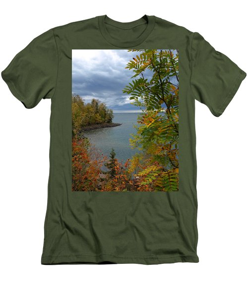 Tropical Mountain Ash Men's T-Shirt (Athletic Fit)