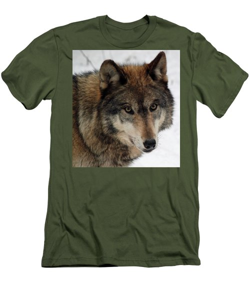 Men's T-Shirt (Slim Fit) featuring the photograph Trusting by Richard Bryce and Family