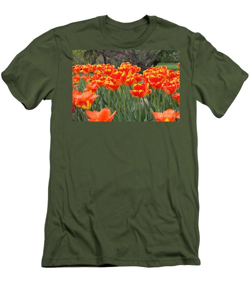 Tulips From Brooklyn Men's T-Shirt (Athletic Fit)