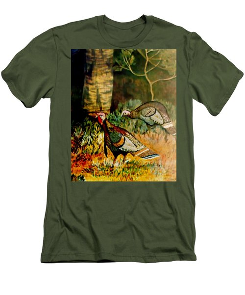 Turkey Men's T-Shirt (Athletic Fit)