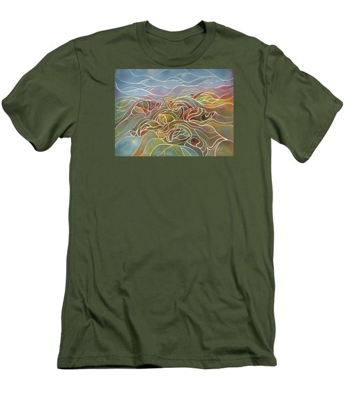Turtles II Men's T-Shirt (Athletic Fit)