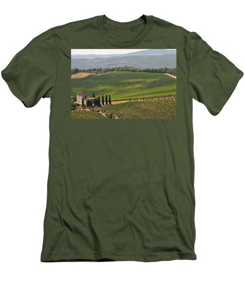 Tuscan Hillside Men's T-Shirt (Athletic Fit)