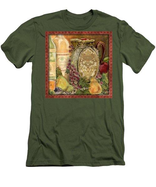 Tuscan Wine-d Men's T-Shirt (Athletic Fit)