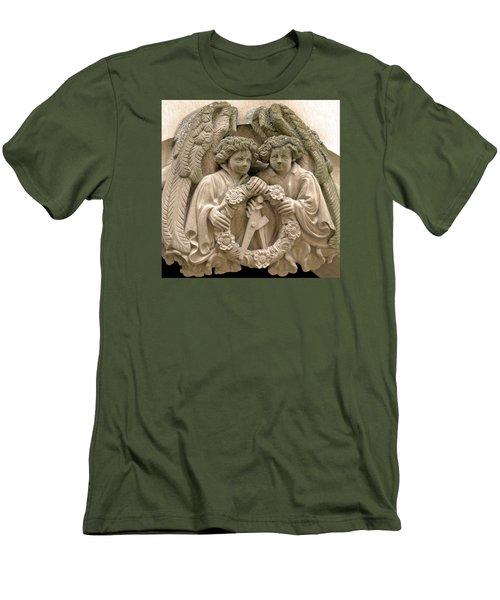 Twin Angels Men's T-Shirt (Athletic Fit)