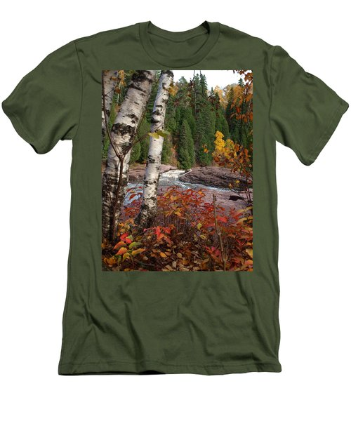 Twin Aspens Men's T-Shirt (Athletic Fit)