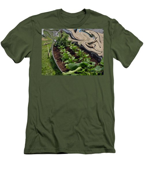 Twisted Garden Men's T-Shirt (Athletic Fit)