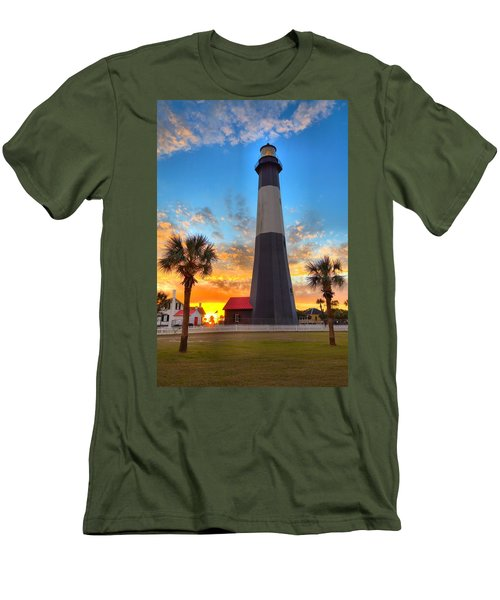 Tybee Island Sunrise Men's T-Shirt (Athletic Fit)