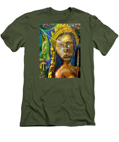 Universal Totem Men's T-Shirt (Slim Fit) by Kicking Bear  Productions