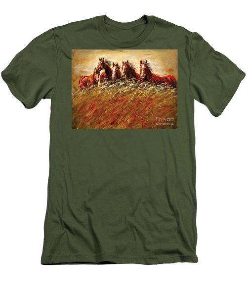 Unsung Heroes Men's T-Shirt (Athletic Fit)