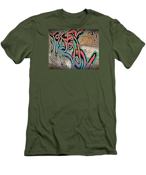 Men's T-Shirt (Slim Fit) featuring the photograph Urban Expression by Steven Milner