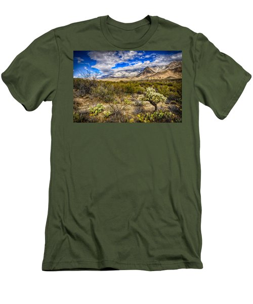Men's T-Shirt (Slim Fit) featuring the photograph Valley View 27 by Mark Myhaver