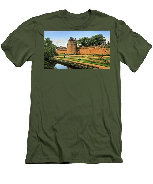 Men's T-Shirt (Slim Fit) featuring the photograph Vannes In Brittany France by Dave Mills