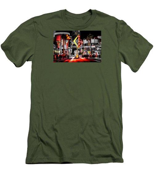 Vegas Nights Men's T-Shirt (Athletic Fit)