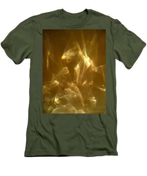 Men's T-Shirt (Slim Fit) featuring the photograph Veils Of Light by Leena Pekkalainen