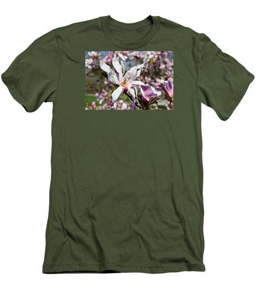 Velvet Men's T-Shirt (Slim Fit) by Julie Andel