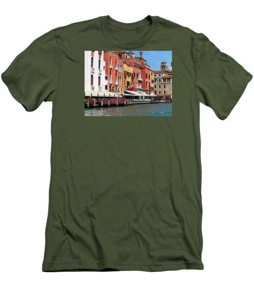 Venice  Men's T-Shirt (Slim Fit) by Oleg Zavarzin