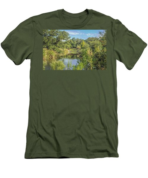 View Down The Creek Men's T-Shirt (Athletic Fit)