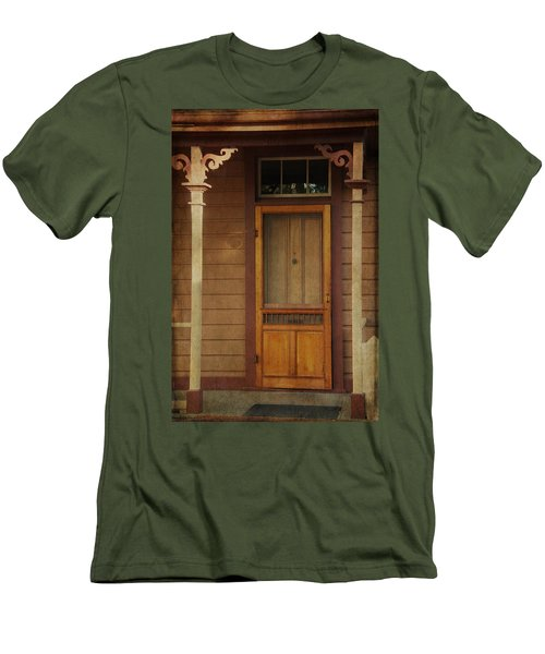 Vintage Doorway Men's T-Shirt (Athletic Fit)