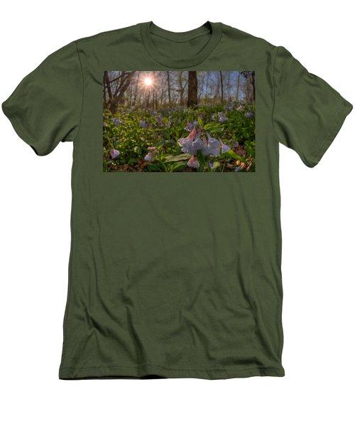 Virgina Bluebells Men's T-Shirt (Athletic Fit)