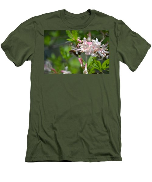 Men's T-Shirt (Slim Fit) featuring the photograph Visitor by Tara Potts