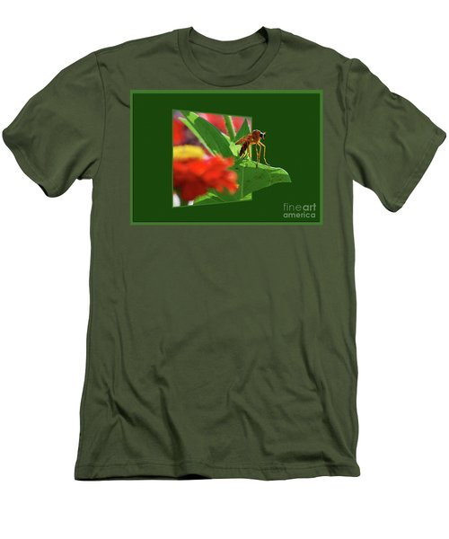 Men's T-Shirt (Slim Fit) featuring the photograph Waiting For A Date by Thomas Woolworth