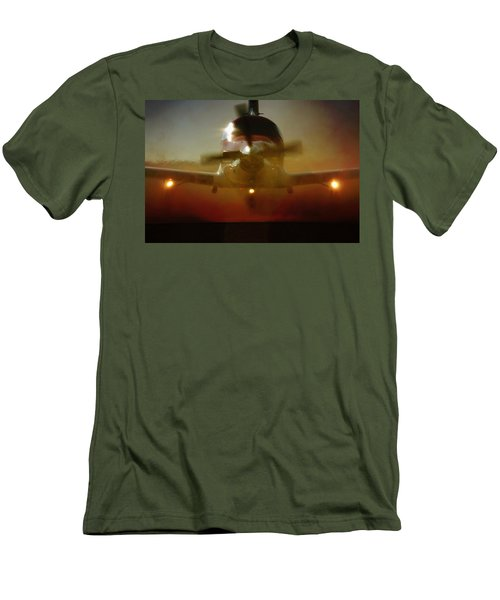 Men's T-Shirt (Athletic Fit) featuring the photograph Waiting For Mercy by Paul Job