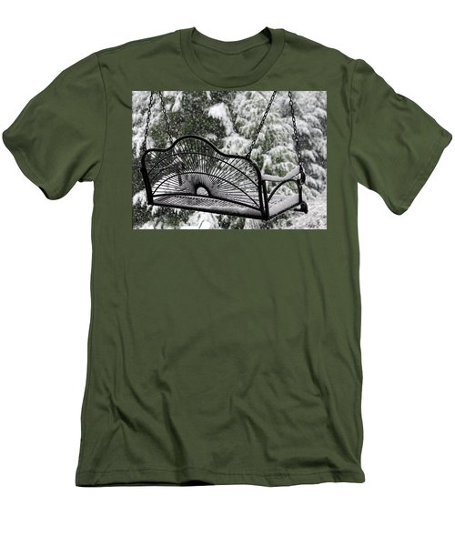 Men's T-Shirt (Slim Fit) featuring the photograph Waiting For Spring by Katie Wing Vigil
