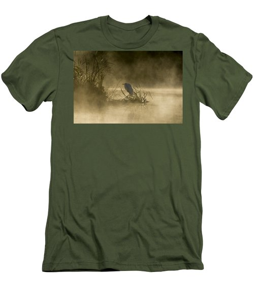 Men's T-Shirt (Athletic Fit) featuring the photograph Waiting For The Sun by Steven Sparks