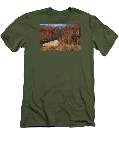Men's T-Shirt (Slim Fit) featuring the photograph Waiting On Spring by Joan Davis