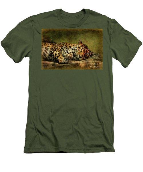 Wake Up Sleepyhead Men's T-Shirt (Slim Fit) by Lois Bryan