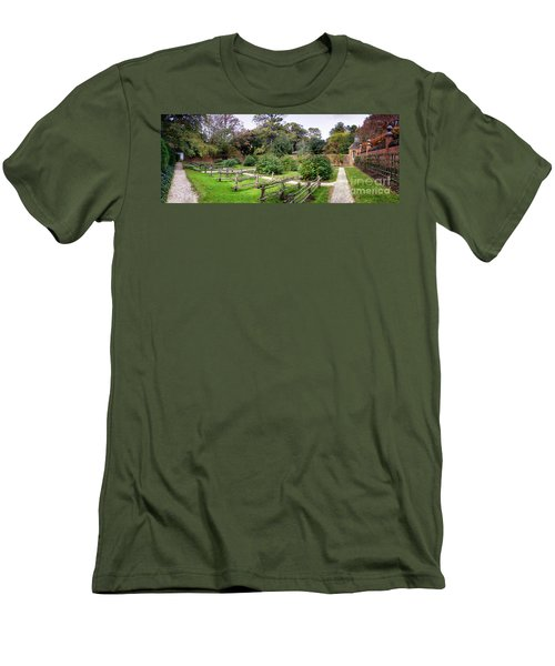 Walled Garden Men's T-Shirt (Athletic Fit)